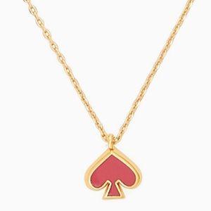 New Kate Spade everyday spade enamel mini pendant
